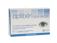 OPTIBEN OJOS SECOS GOTAS UNIDOSIS 0.25 ML 20 AMP