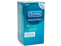 PRESERVATIVO DUREX NATURAL PLUS EASY ON 24 UDS