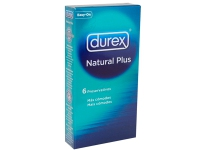DUREX NATURAL PLUS 6 U